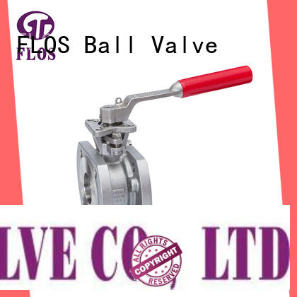 FLOS professional single piece ball valve wholesale for opening piping flow