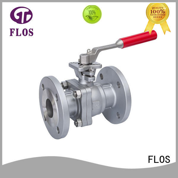 FLOS manual ball valves supplier for opening piping flow