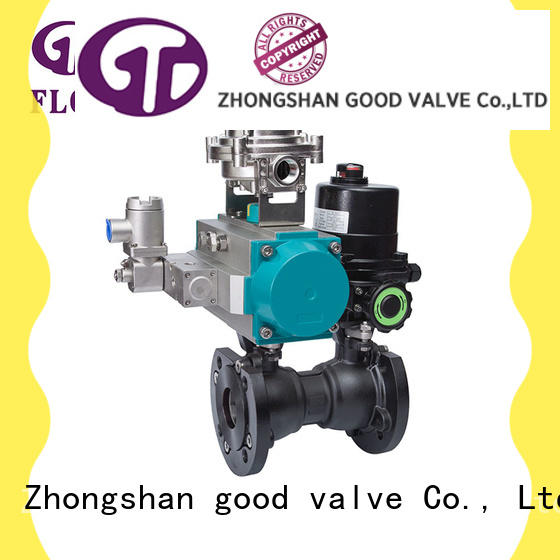 FLOS pneumatic carbon steel valve wholesale for opening piping flow