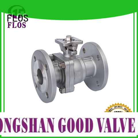 FLOS Wholesale 2-piece ball valve company for opening piping flow