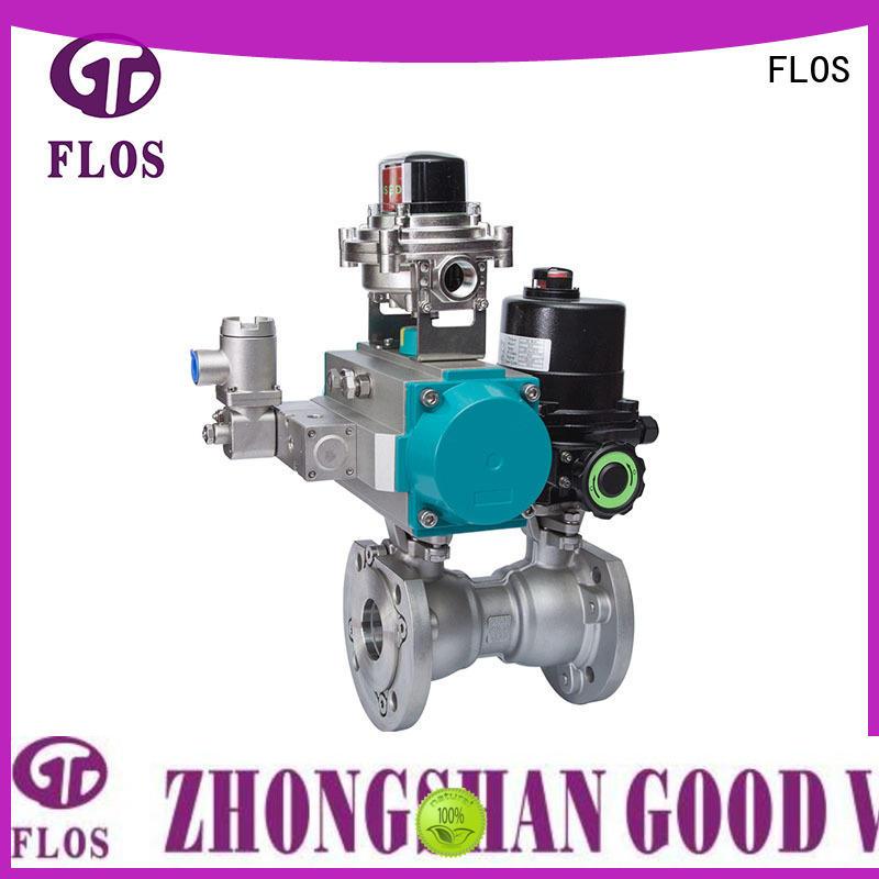 FLOS valveflanged valves manufacturer for opening piping flow
