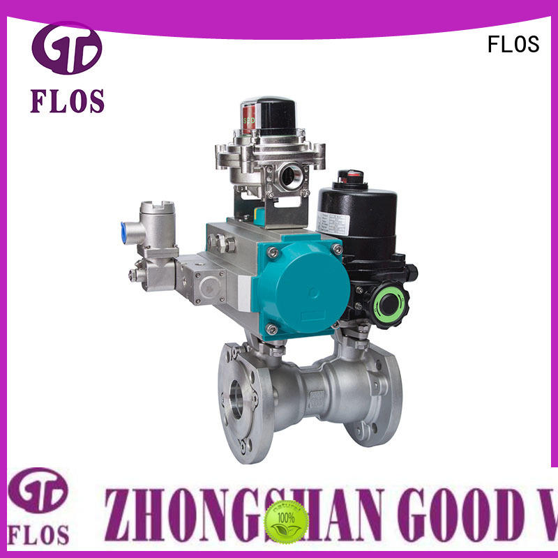 FLOS experienced one piece ball valve wholesale for opening piping flow