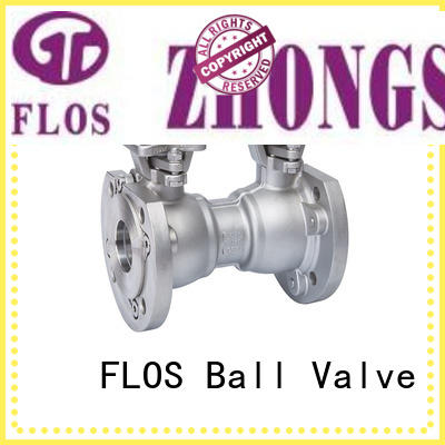 FLOS durable one piece ball valve manufacturer for closing piping flow