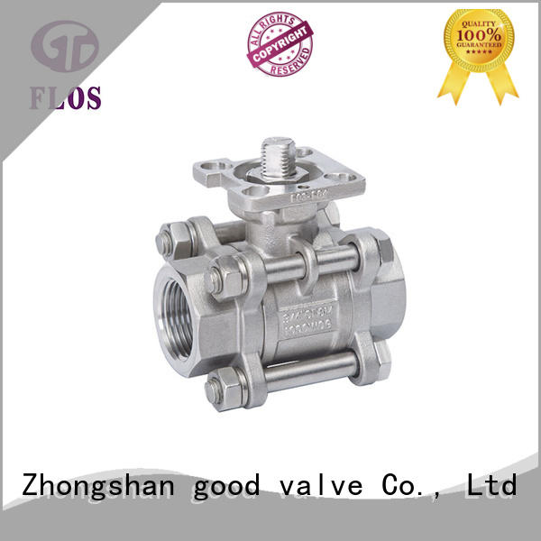 High-quality 3 piece stainless ball valve pc Supply for opening piping flow
