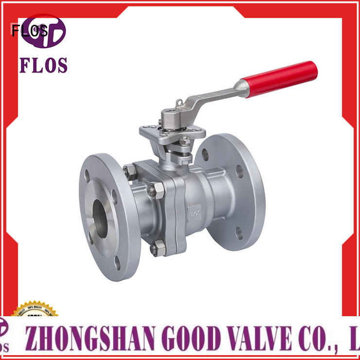 FLOS Wholesale two piece ball valve Supply for opening piping flow
