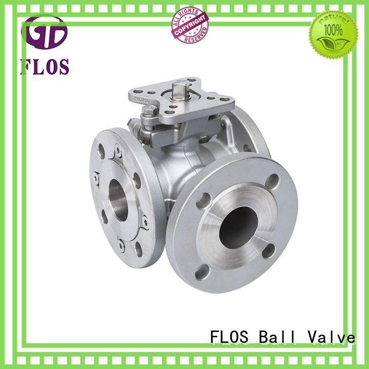 professional 3 way valves ball valves ends supplier for closing piping flow