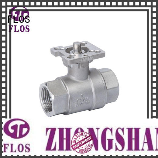 FLOS high quality stainless steel ball valve supplier for closing piping flow