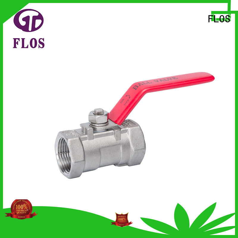 FLOS steel valves supplier for opening piping flow
