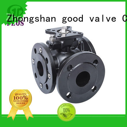 way 3 way flanged ball valve supplier for directing flow