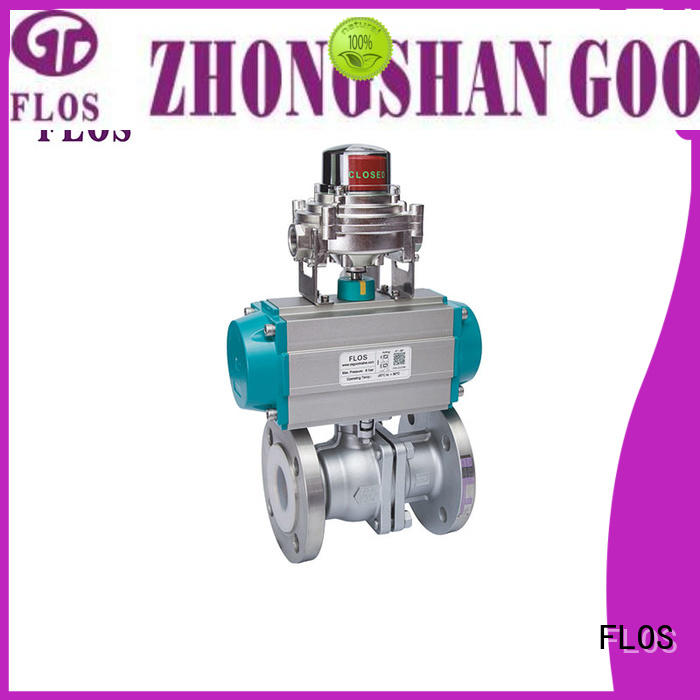 FLOS Custom 2-piece ball valve manufacturers for directing flow