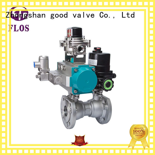 FLOS pc ball valve company for closing piping flow