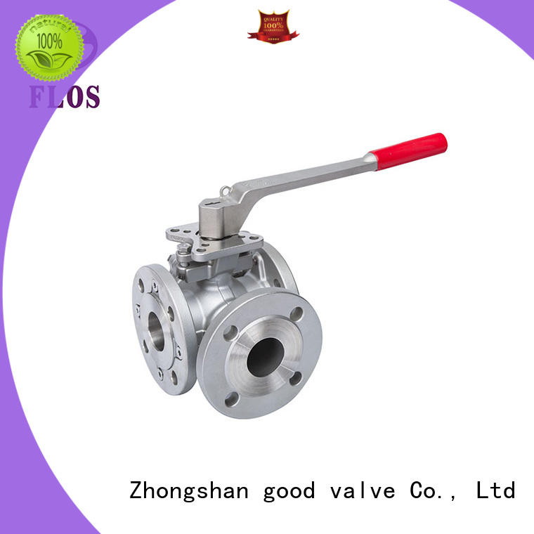 FLOS double three way ball valve suppliers supplier for directing flow