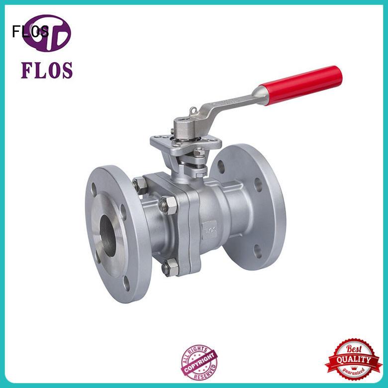 2 pc manual high-platform ball valve,flanged ends