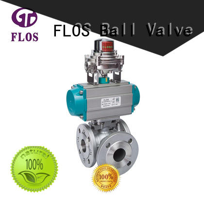 FLOS highplatform 3 way valves ball valves wholesale for closing piping flow