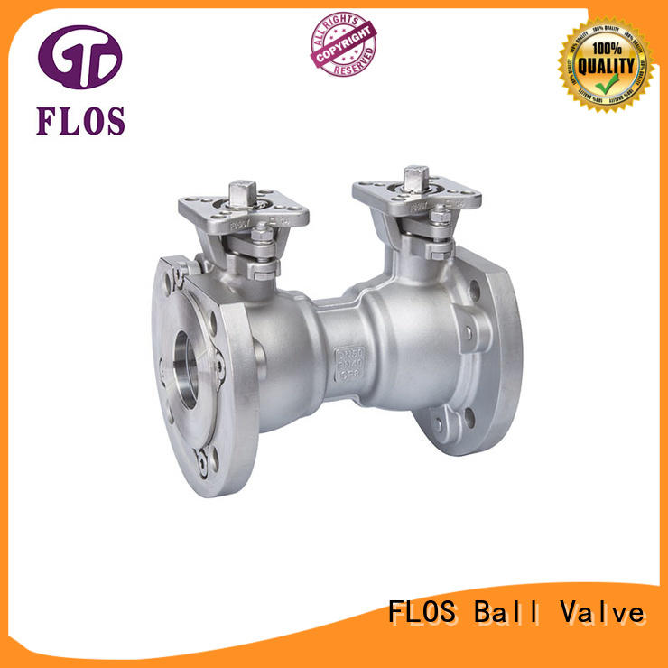 New ball valve double company for directing flow