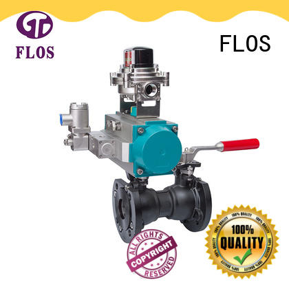 single piece ball valve threaded for directing flow FLOS