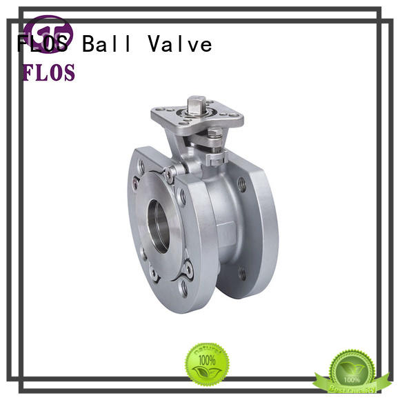 FLOS valveflanged 1 inch ball valve wholesale for closing piping flow