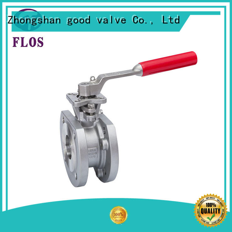 FLOS ball 1 pc ball valve wholesale for opening piping flow