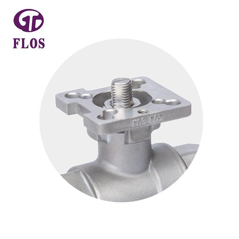2 pc high-platform ball valve,threaded ends