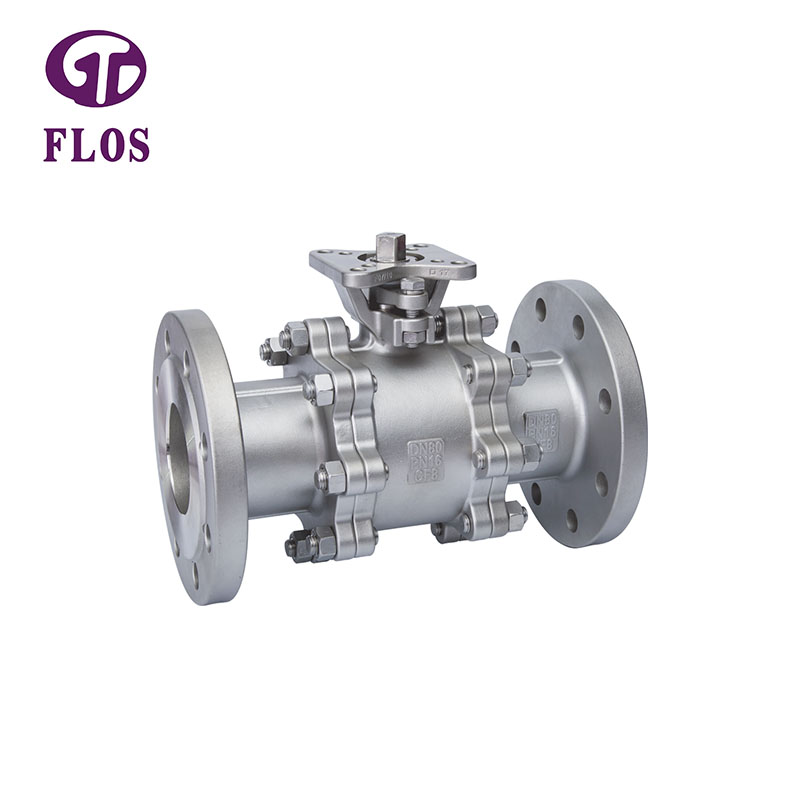 FLOS Wholesale three piece ball valve manufacturers for closing piping flow-2