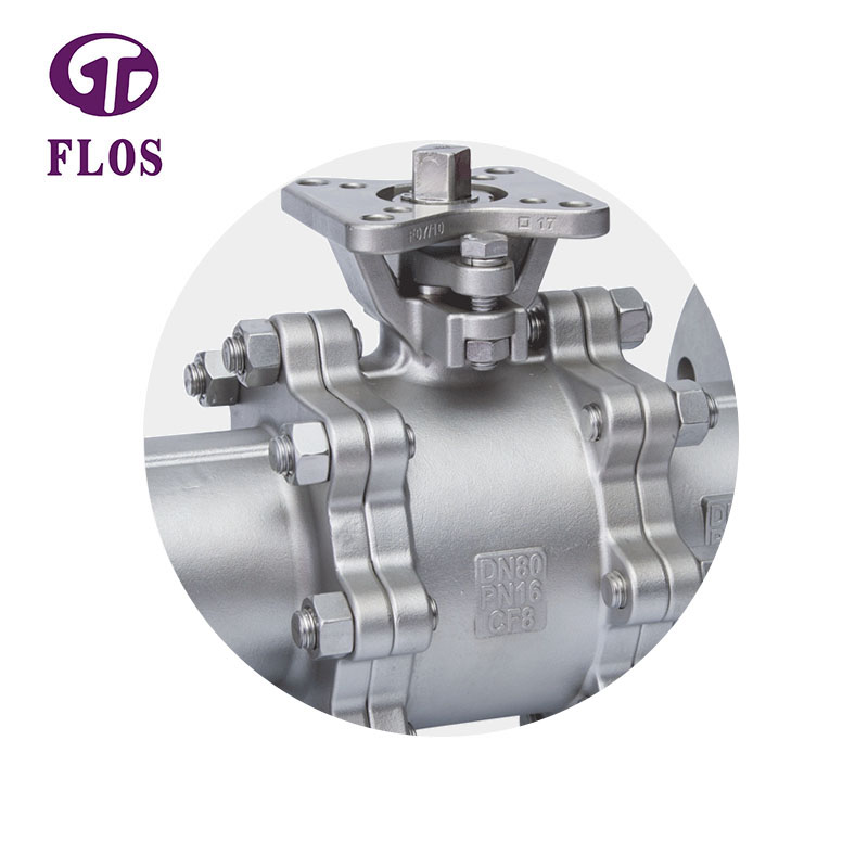 FLOS Wholesale three piece ball valve manufacturers for closing piping flow-1