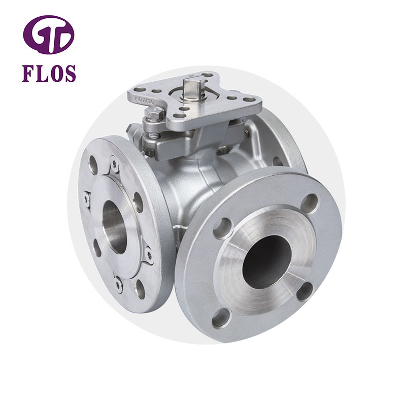 FLOS valve flanged end ball valve for business for closing piping flow-1