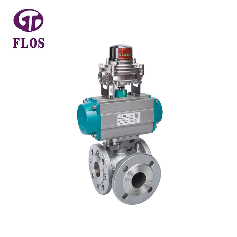 FLOS Custom multi-way valve company for closing piping flow-2