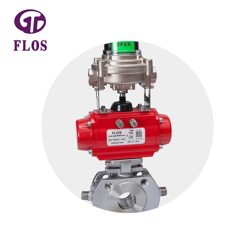 New 1-piece ball valve manual company for closing piping flow-1