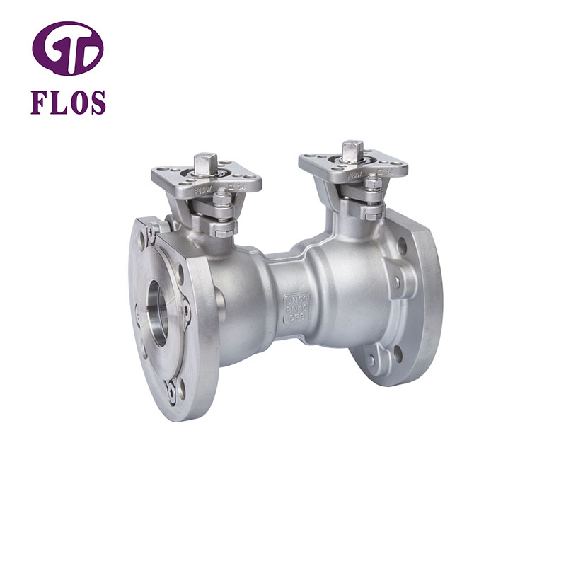 FLOS one 1-piece ball valve factory for closing piping flow-2
