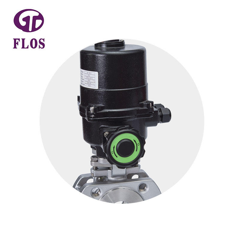 One pc electric high-platform heat preservation ball valve,flanged ends