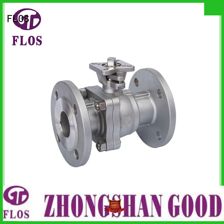 FLOS positionerflanged ball valves supplier for directing flow