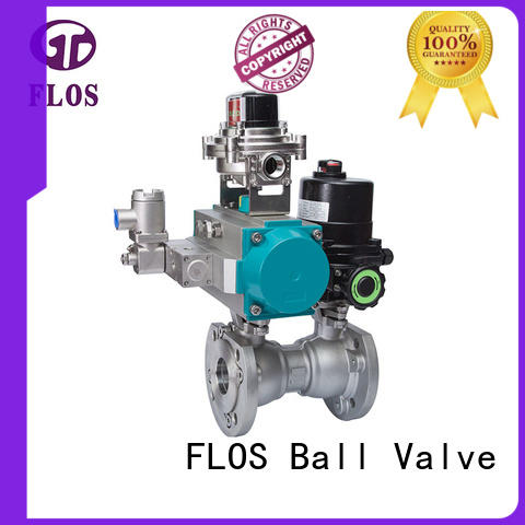 FLOS openclose 1 pc ball valve supplier for closing piping flow