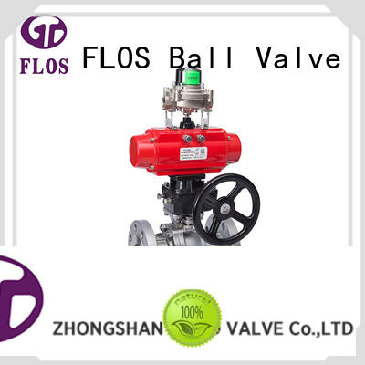 highplatform two piece ball valve wholesale for opening piping flow FLOS