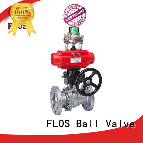 FLOS switchflanged two piece ball valve for business for closing piping flow