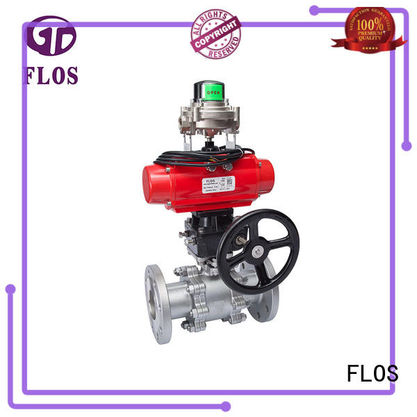 FLOS highplatform stainless valve wholesale for closing piping flow