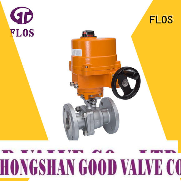 FLOS high quality stainless ball valve manufacturer for closing piping flow