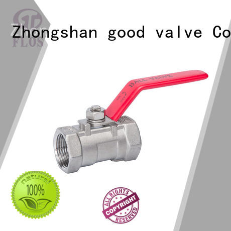 FLOS high quality 1-piece ball valve wholesale for directing flow