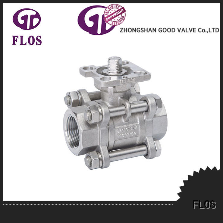 openclose 3 piece stainless steel ball valve manufacturer for directing flow