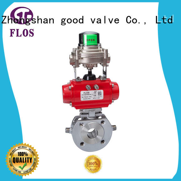 FLOS ball flanged gate valve supplier for closing piping flow