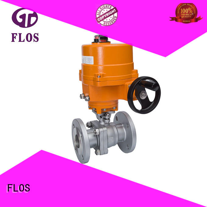 FLOS ball 2-piece ball valve supplier for directing flow