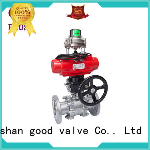 FLOS safety 3-piece ball valve manufacturer for closing piping flow
