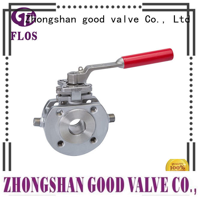 durable single piece ball valve stainless wholesale for closing piping flow
