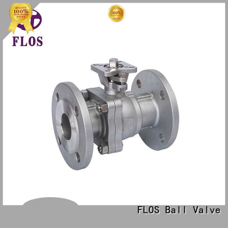FLOS ball 2-piece ball valve wholesale for closing piping flow
