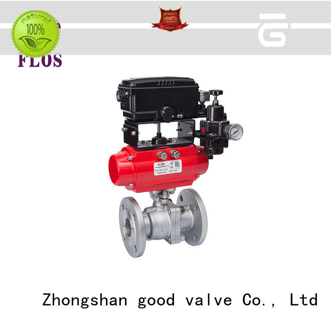 FLOS pneumaticworm ball valves manufacturer for opening piping flow