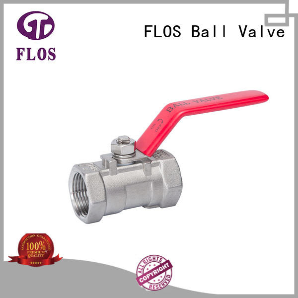 FLOS professional 1-piece ball valve supplier for closing piping flow