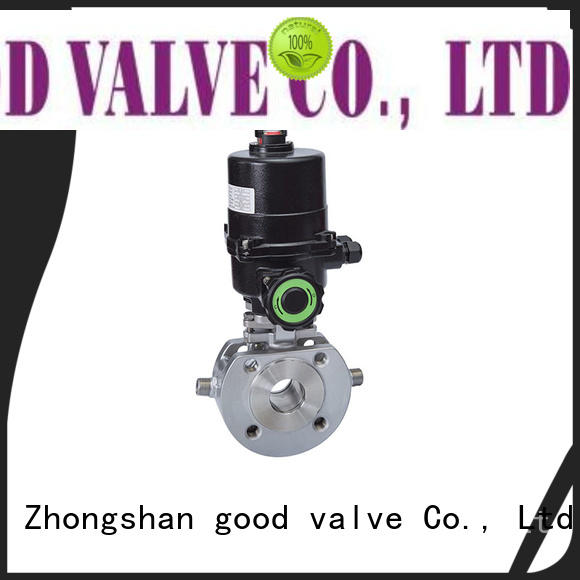 FLOS electric 1 piece ball valve manufacturer for directing flow