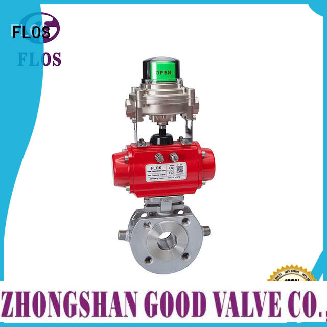 FLOS ball 1 pc ball valve wholesale for closing piping flow