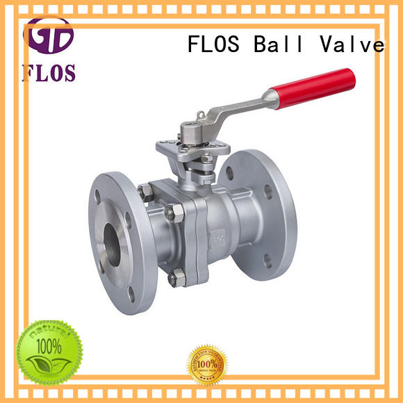 FLOS safety stainless steel valve supplier for opening piping flow