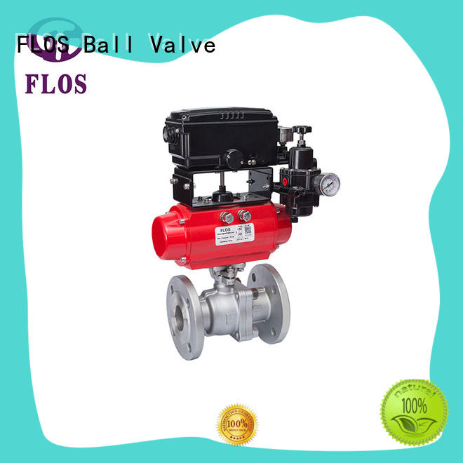 FLOS safety stainless ball valve wholesale for directing flow