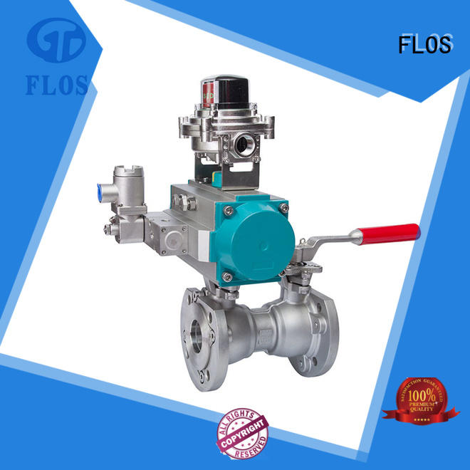 FLOS ball 1 piece ball valve wholesale for closing piping flow